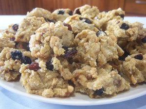 Oat-less Granola Cookies