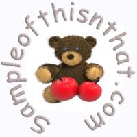 Sampleofthisnthat logo